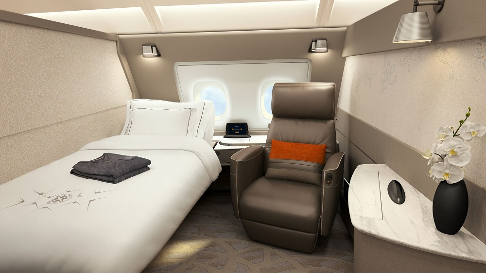 Singapore Airlines A380 upgrade