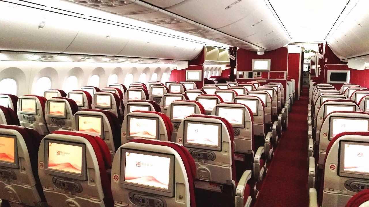 Suparna 787 economy class