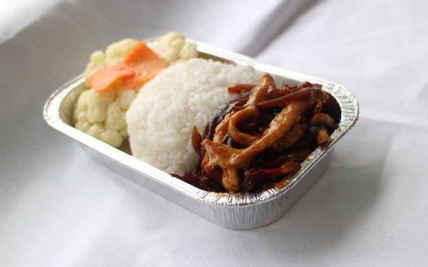 Suparna economy class meal