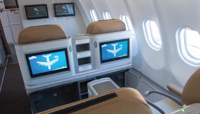 Thai lion Air A330 premium economy