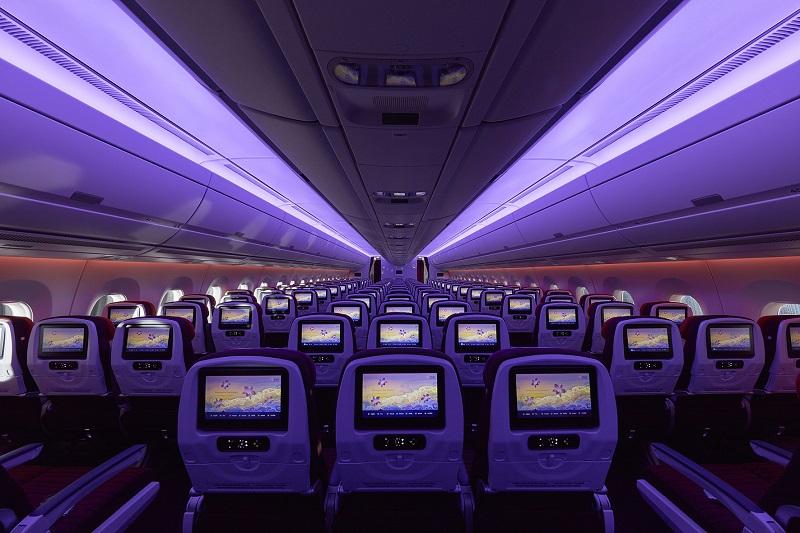 Thai A350 Melbourne network
