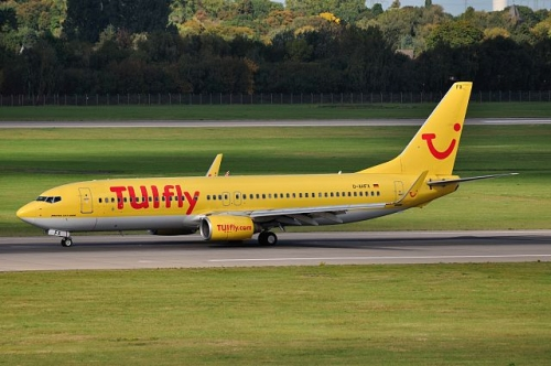 TUIfly 737-800  Picture: Humphrey Manusiwa/commons.wikimedia.org