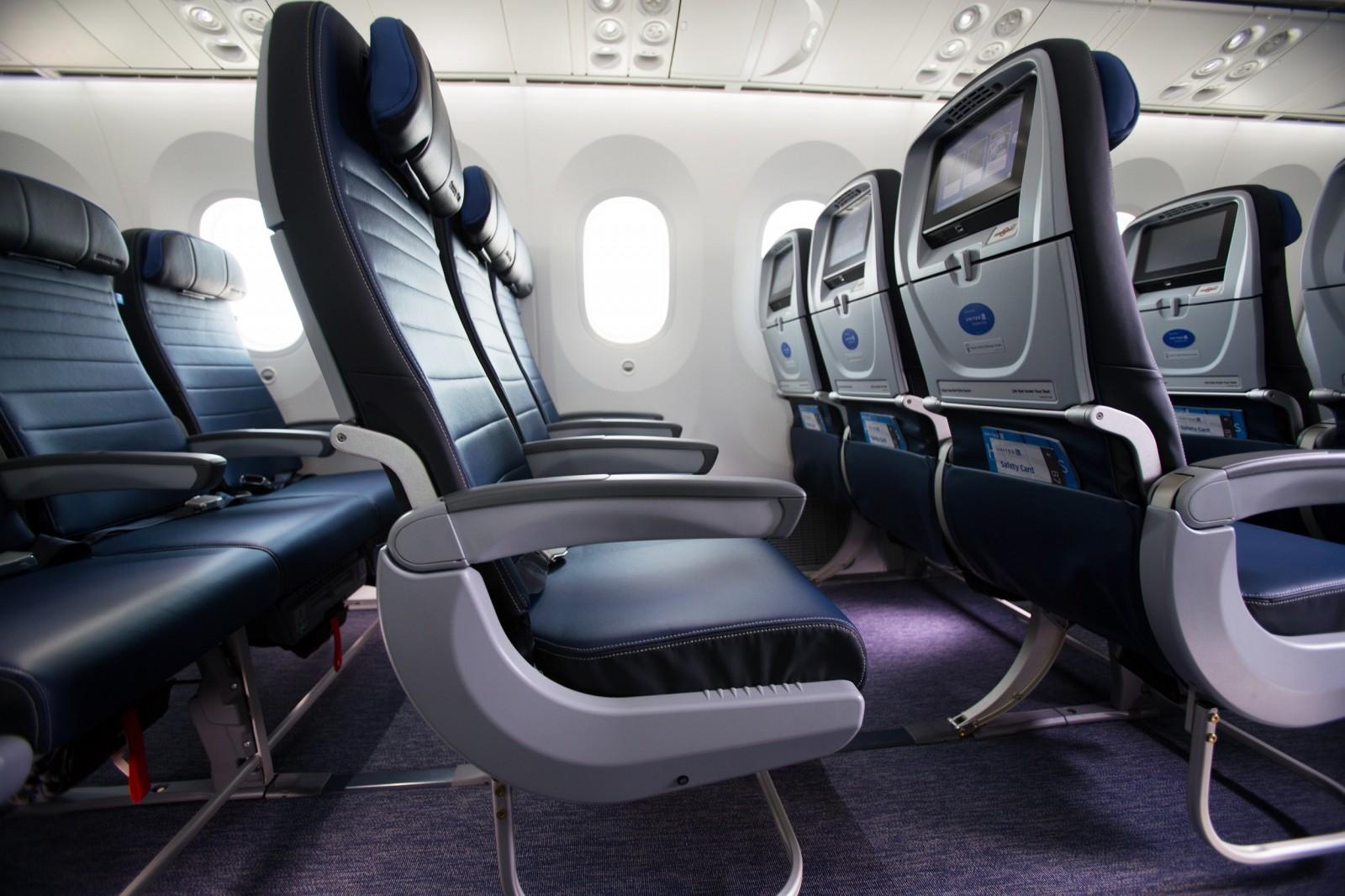 United Airlines Economy Plus