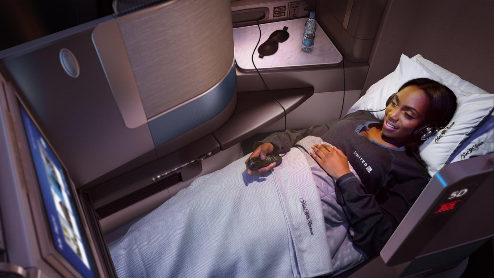 United Airlines Polaris Class