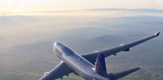 United Boeing 747 last flight