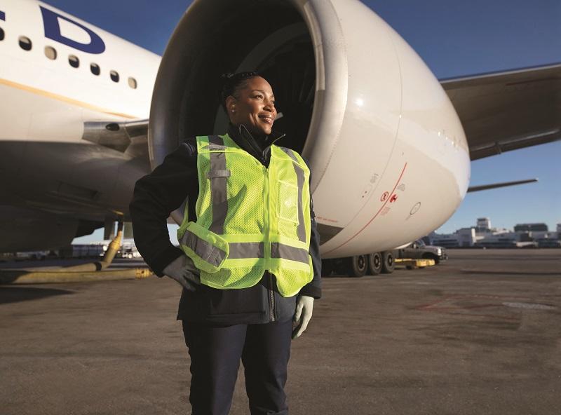 United work wear runways