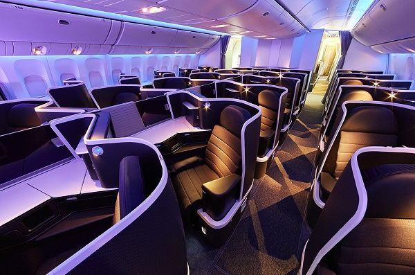 Virgin Australia has won AirlineRatings Best Business Class