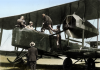 Ross and Keith Smith with Vickers Vimy