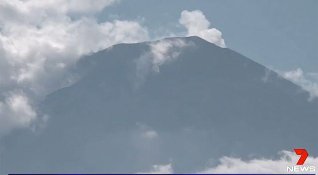 Agung Bali Volcano warning downgrade