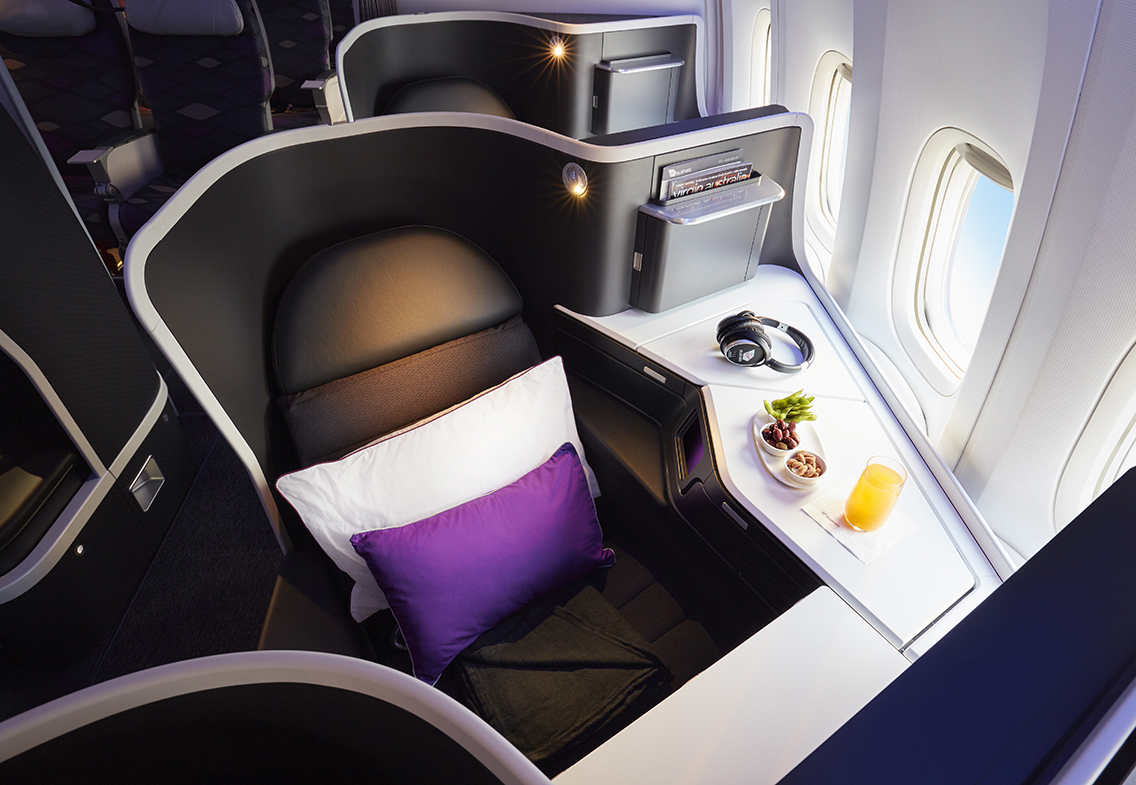 Virgin Australia 's daylight express across the Pacific is a
