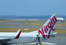 Virgin Australia is taking passengers to Bali