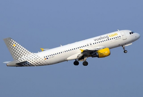Vueling A320 Picture: Javier Bravo Munoz/commons.wikimedia.org