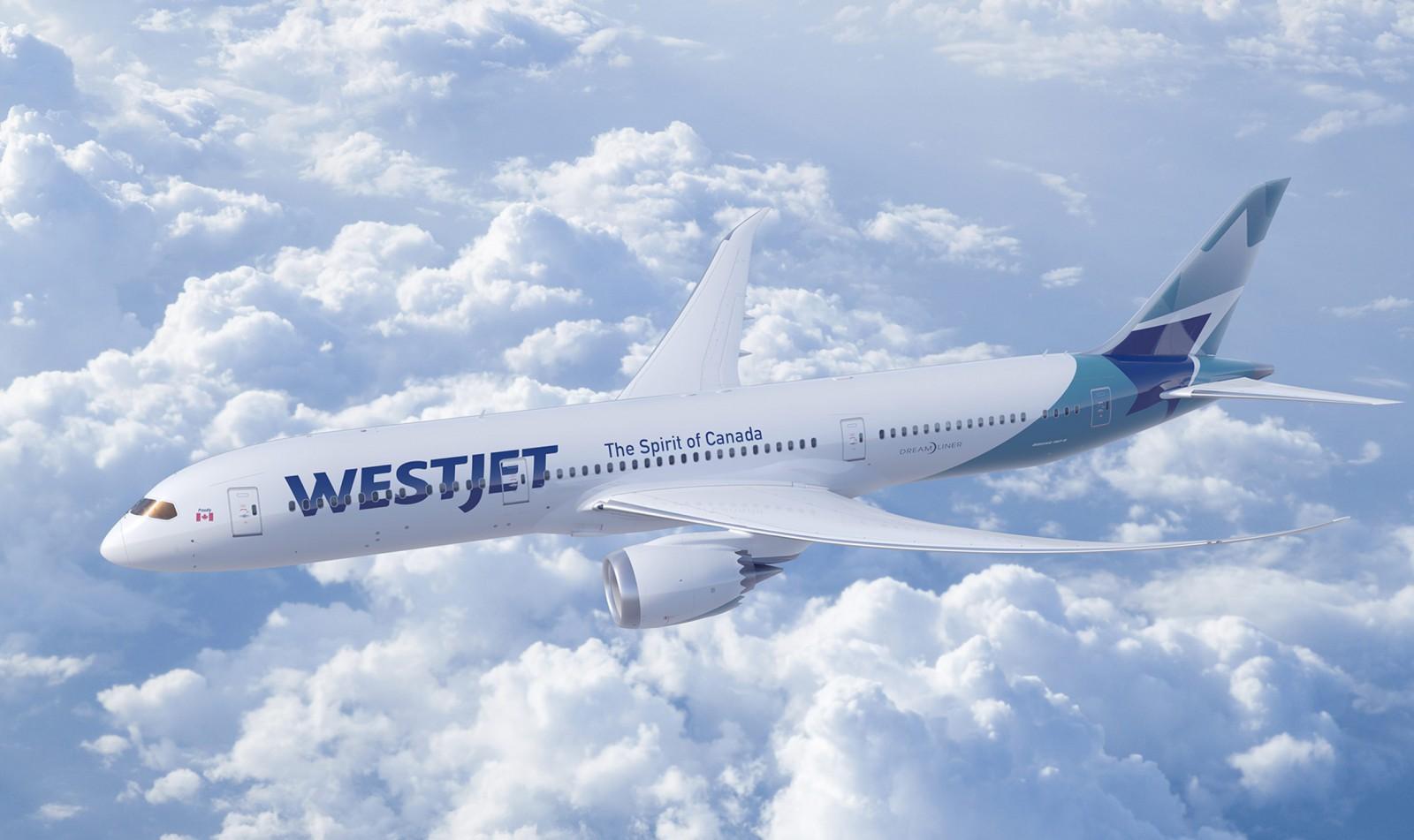 WestJet 787 aircraft