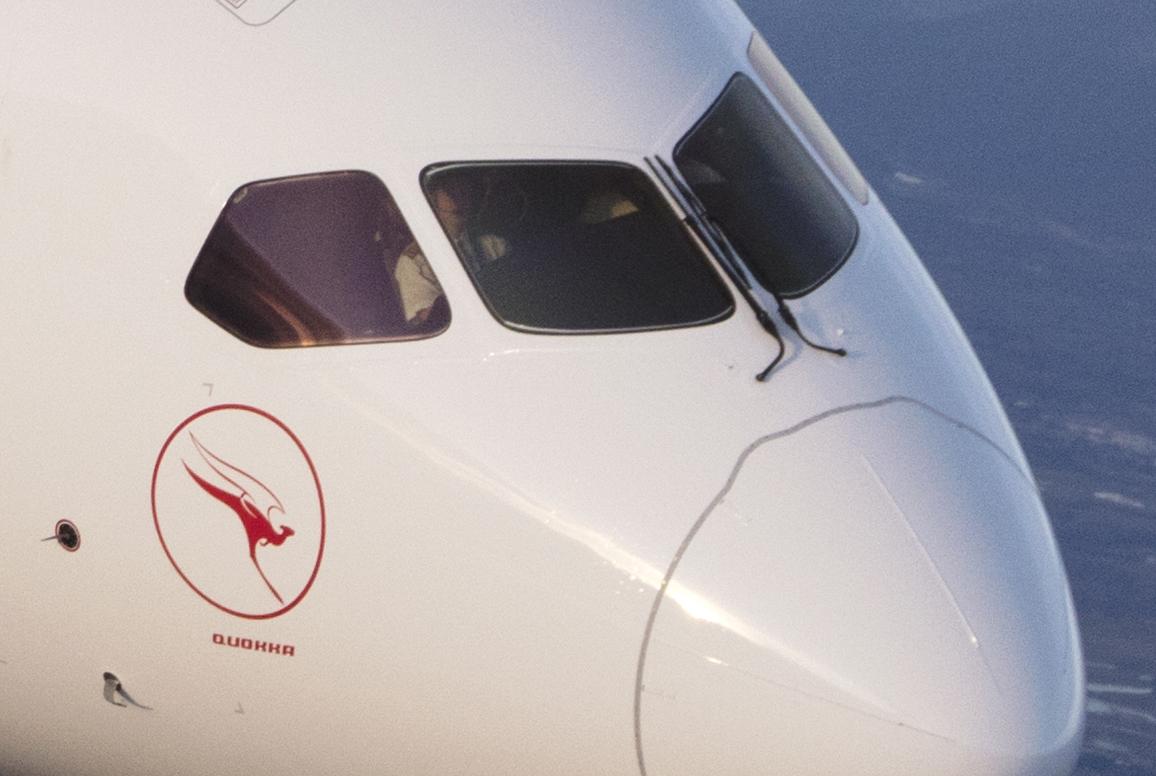 "Qantas 787 VH-ZNC ""Quokka"""