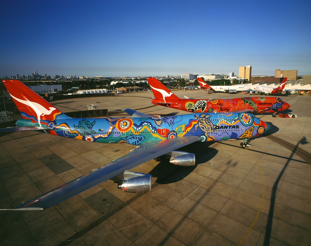 Qantas Boeing 747 Queen