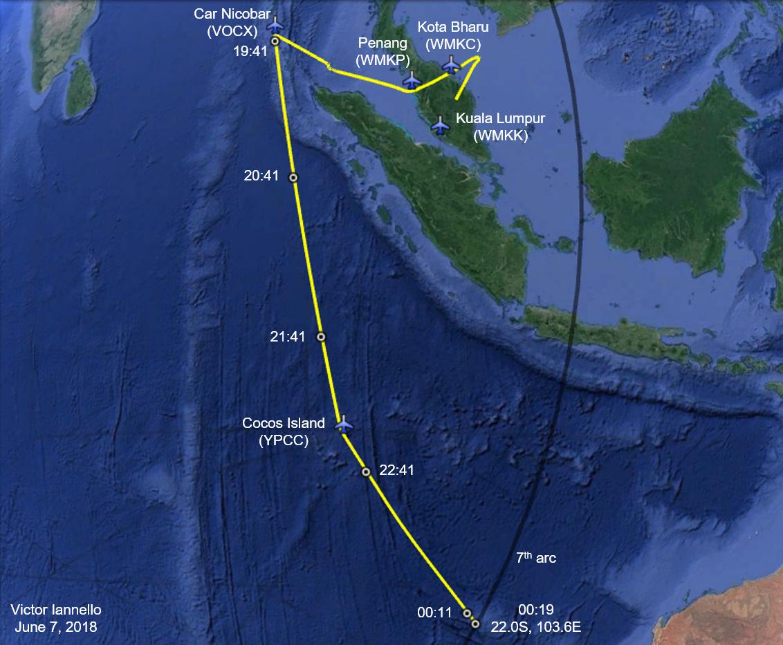 Mh370 Flight path