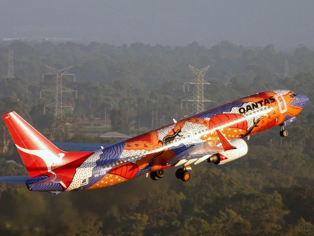 Qantas's indigenous design Yananyi Dreaming