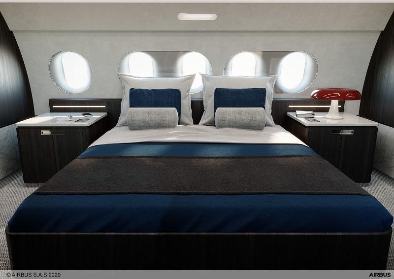 Airbus A220 biz jet