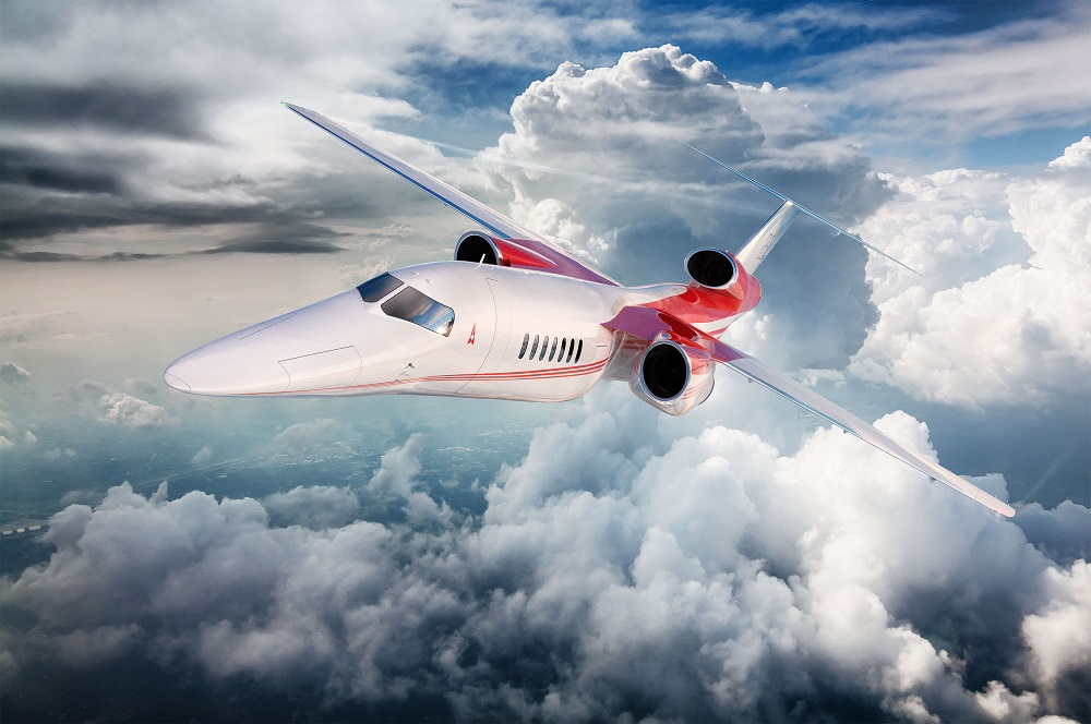 Aerion supersonic 2023 Boeing
