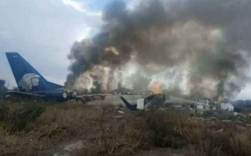 aeromexico crash Durango