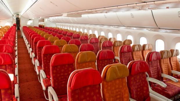 air india economy class 787