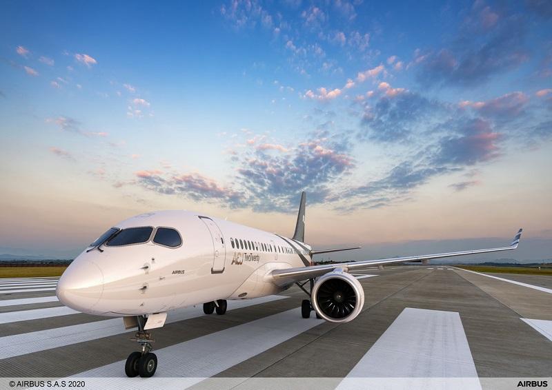 Airbus A220 bizjet