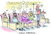 Smelly passengers are the most annoying
