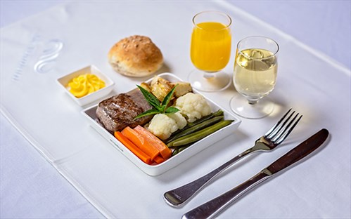 air vanuatu business class meal