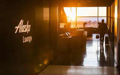 Alaska Airlines flaghsip lounge