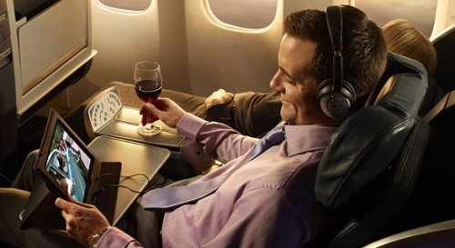 Domestic First Class on the 767  Picture: American Airlines