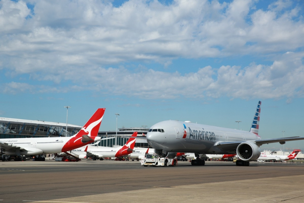 Qantas, American refile for antitrust immunity for JBA
