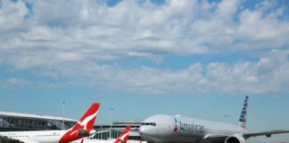 Qantas fine cabotage