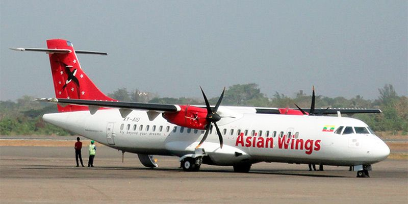 asian wings airlines aircraft
