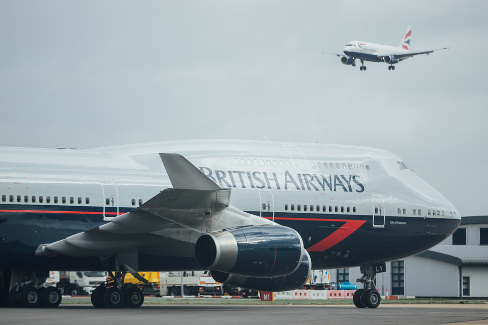 British Airways heritage livery