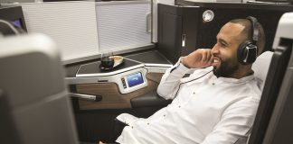 British Airways new business class