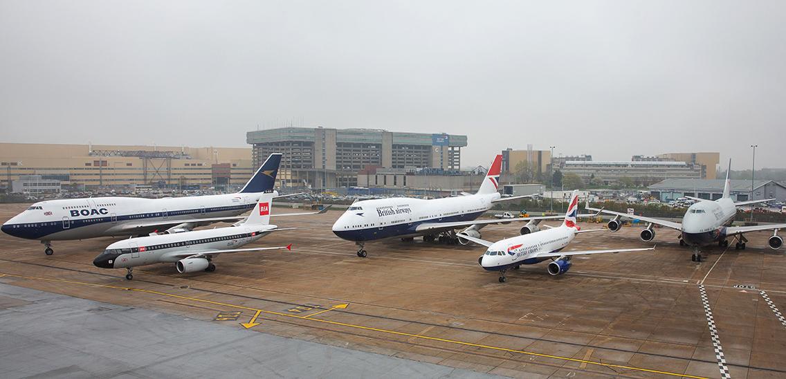 British Airways displays its retro fleet - Airline Ratings