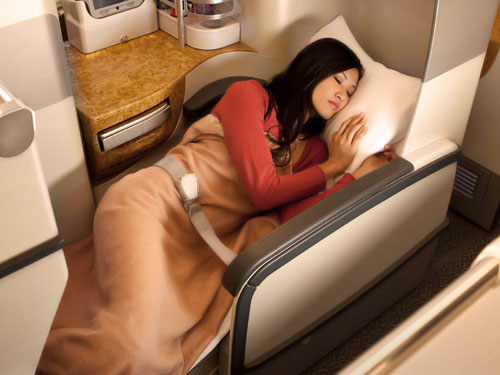 Emirates Business Class  Picture: Emirates