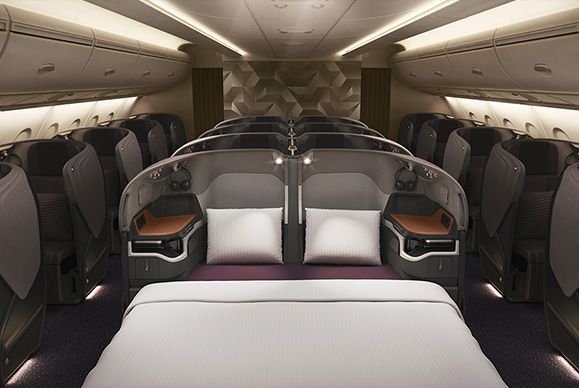 Singapore tall person A380