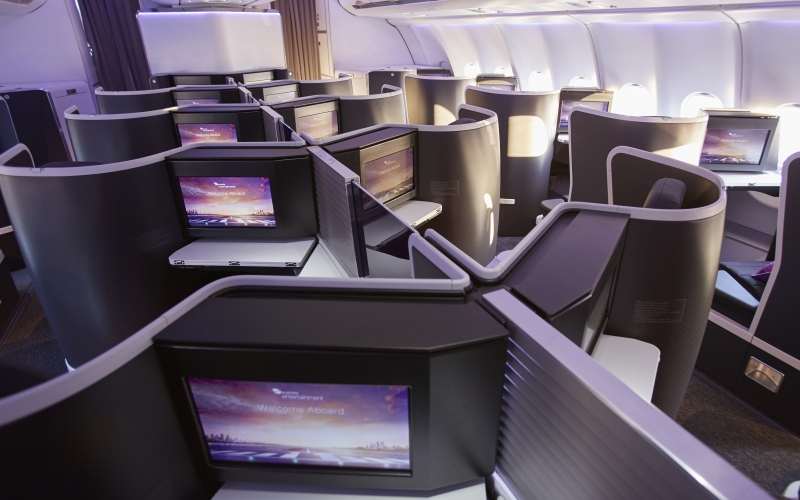 Virgin Australia Airbus A330 business class