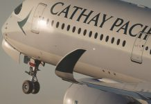 january cathay capacity