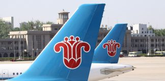 CHina Southern Skyteam American Airlines