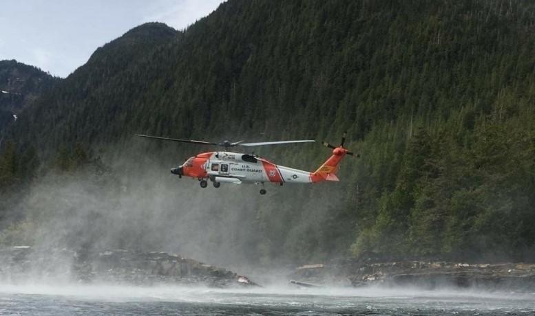 Alaska cruise seaplane craSH