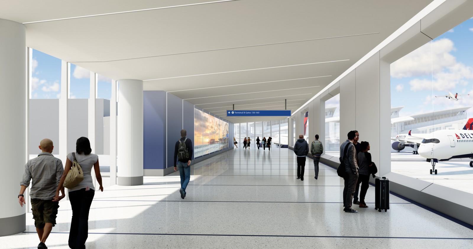 Delta LAX upgrade