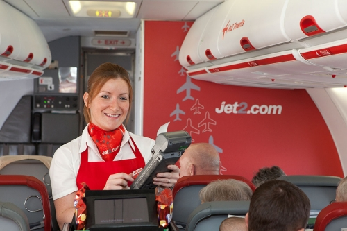 In flight service  Picture: Jet2