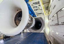 Delta world biggest jet engine test cell