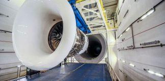 Delta world biggest jet engine test cell