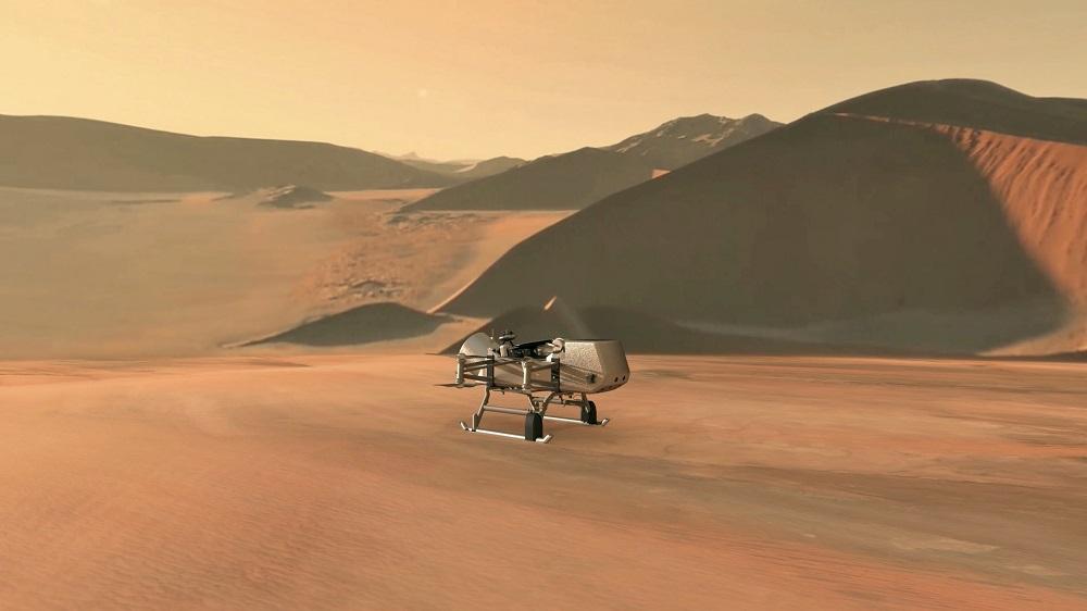 Warlike drones Titan