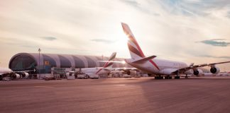Emirates cuts flights 25 percent
