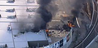 Pilots shopping centre crash Melbourne