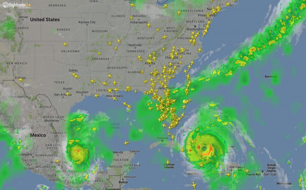 Florida airports closed. evacuation of Florida airport before the airports shut
